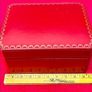 CARTIER ROADSTER leather Watch Case in very good.